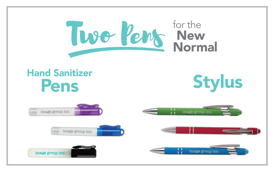 Two Pens for the New Normal