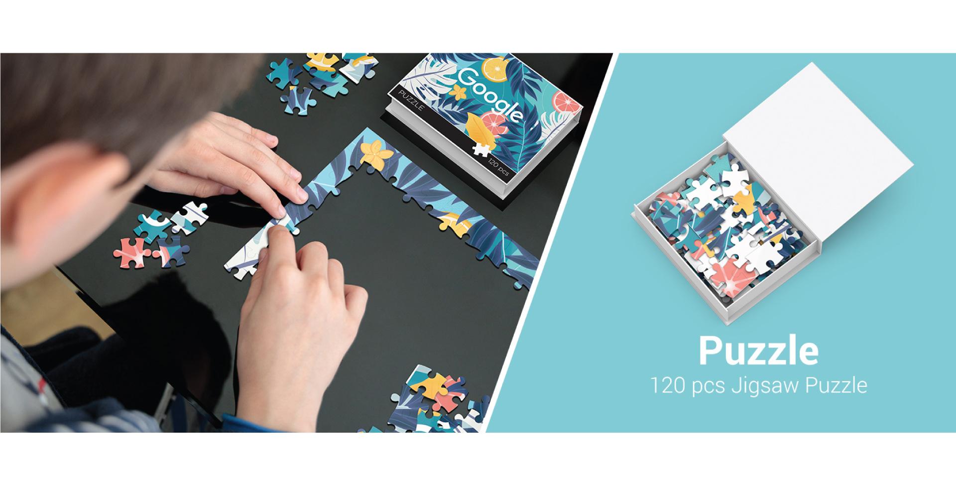 120 Piece Jigsaw Puzzle