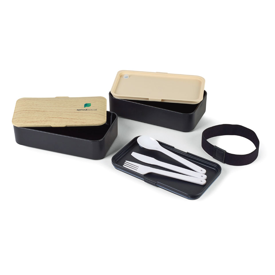 Bento Lunch Box and Utensils