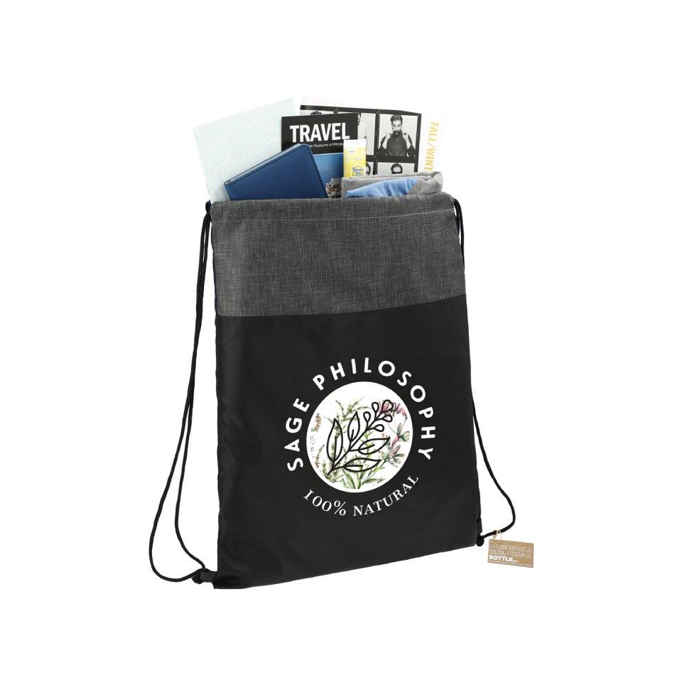 Ash Recycled Drawstring Bag