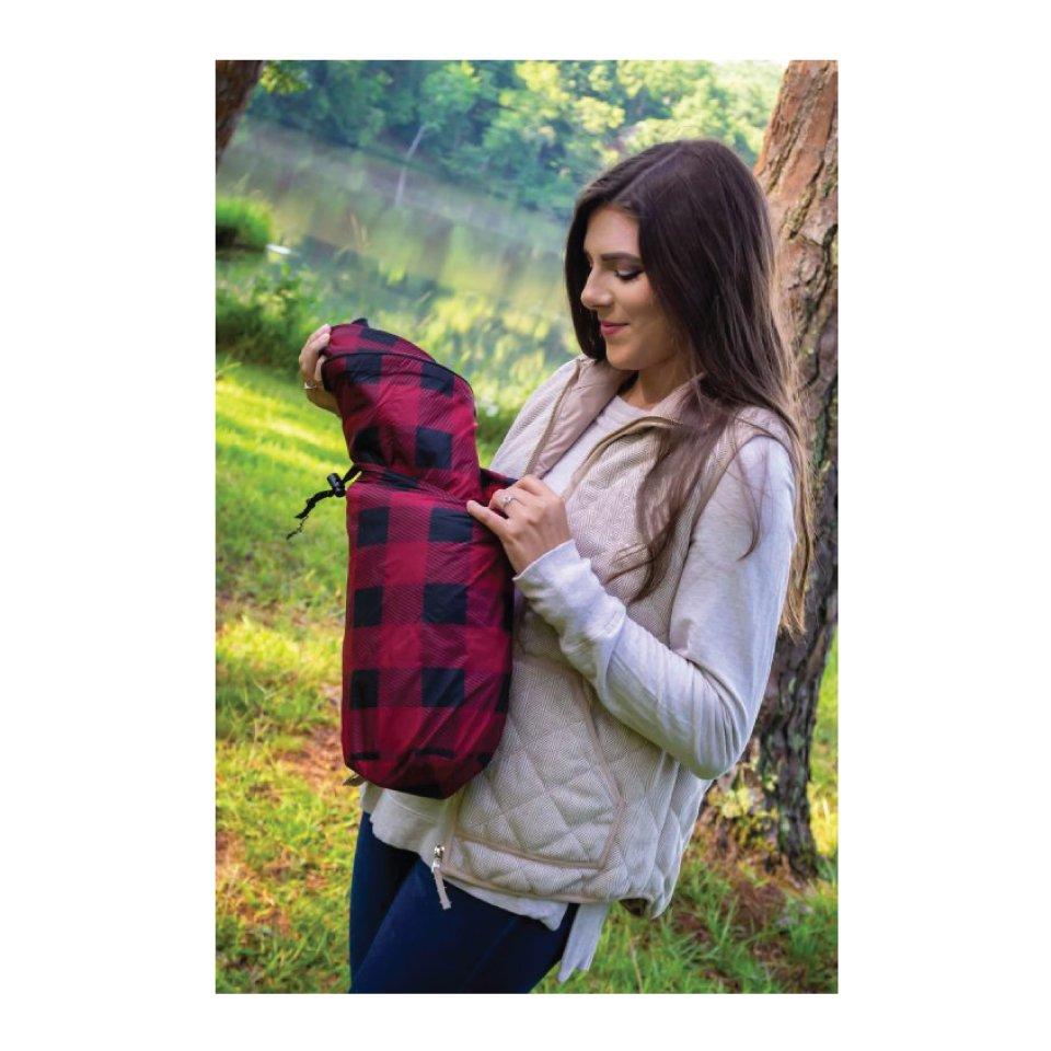 Camper Blanket with Tote Bag