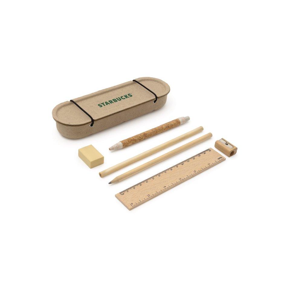 6 Piece Eco Stationery Kit