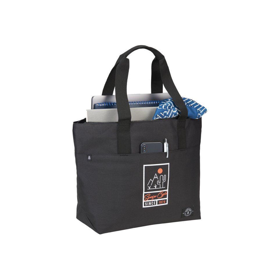 Parkland Recycled Zippered Commuter Tote