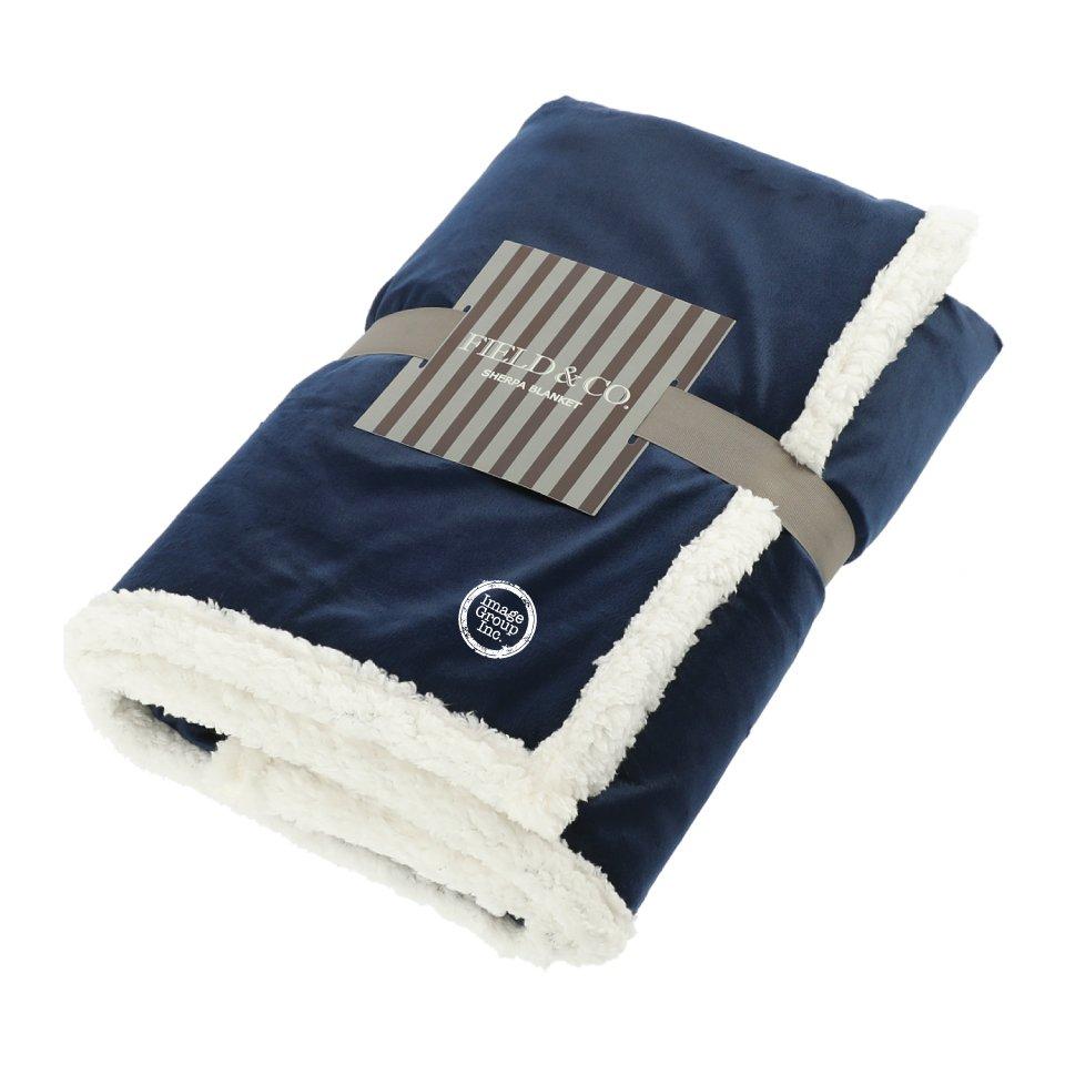 Field & Co.® 100% Recycled PET Sherpa Blanket