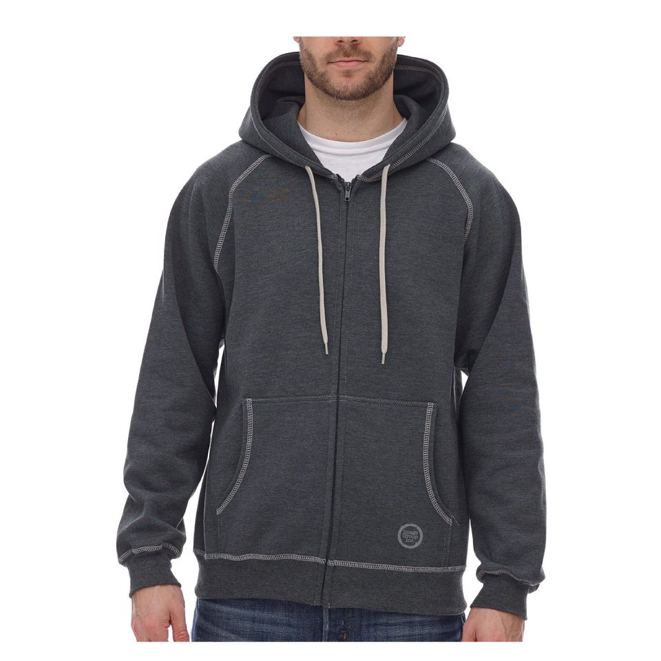 Extra Heavy Full-Zip Hooded Sweatshirt